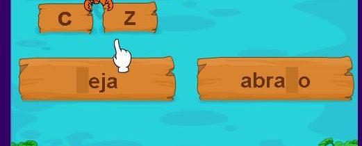 """Juego: Uso de """"c"""" y """"z"""""""
